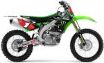 Kit déco complet D-Cor Visuals 2014 Team Monster Energy Kawasaki KXF 450 09-11