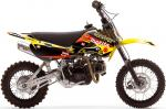 Kit déco seul One Industries Factroy Suzuki RM 65-DRZ 110 03-10