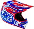 Casque Troy Lee Designs 2016 Air Scratch Rouge