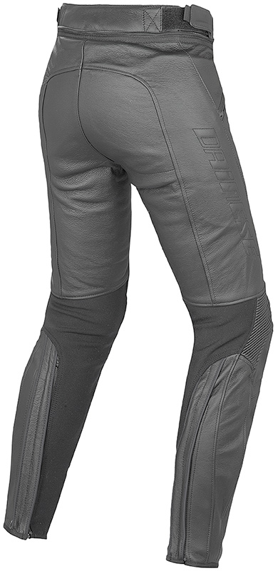 moto shop racing pantalon en cuir dainese femme pony pelle noir. Black Bedroom Furniture Sets. Home Design Ideas