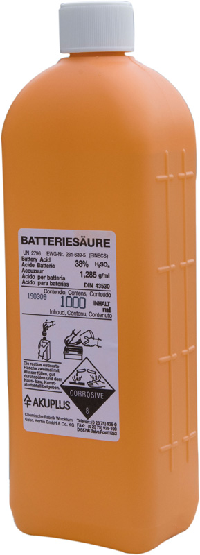 Moto shop racing acide de batterie putoline 1 litre - Acide de batterie ...