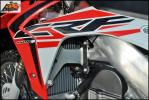 Protection de radiateur AXP Racing CRF 450 15-16 Rouge