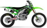 Kit déco complet D-Cor Visuals 2015 Team Monster Energy Kawasaki KXF 450 09-11