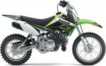 Kit complet One Industries Monster Energy Kawasaki KX 65 02-12 - KLX 110 02-09